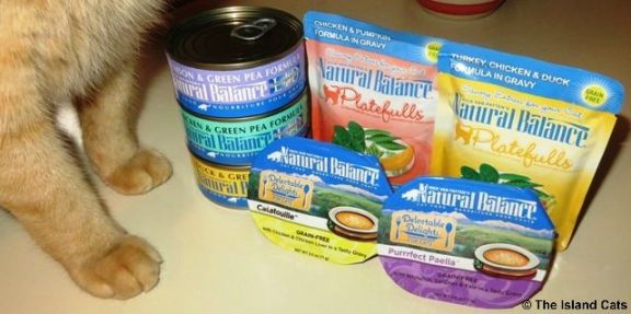 Natural Balance Lid Limited Ingredient Diet Canned Cat Foods