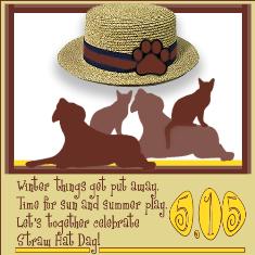 Straw Hat Day 5.15.2016