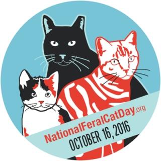 National Feral Cat Day logo circle