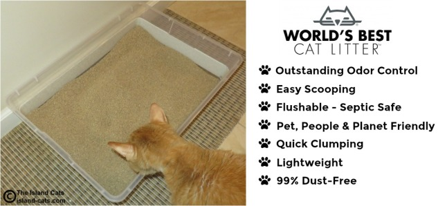Features of World Best Cat Litter #WasteLessLitter