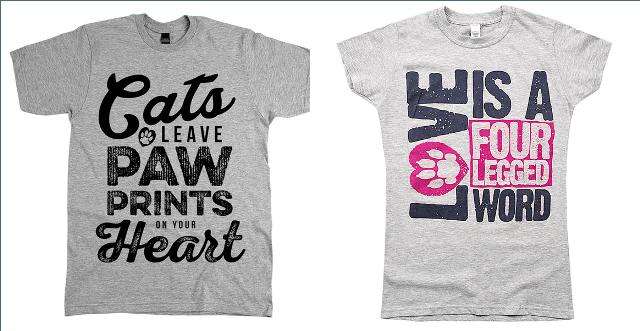 Animal Hearted Shirts 2