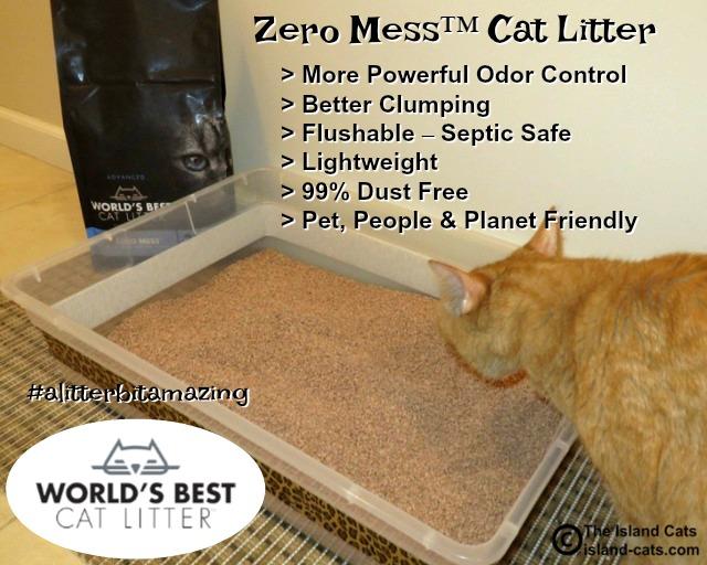 Zero Mess™ Cat Litter #alitterbitamazing