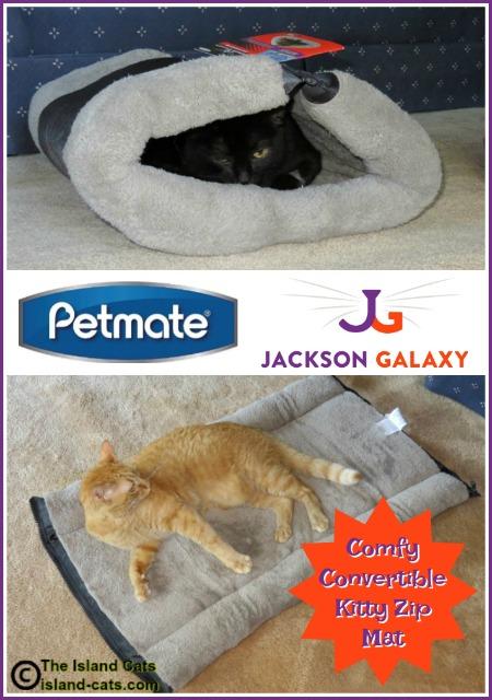 Petmate Jackson Galaxy Kitty Zip Mat graphic
