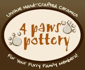 4-paws-pottery-logo