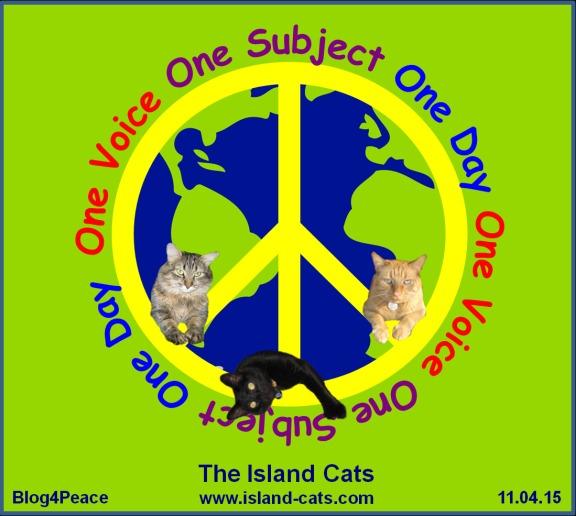The Island Cats BlogBlast4Peace2015