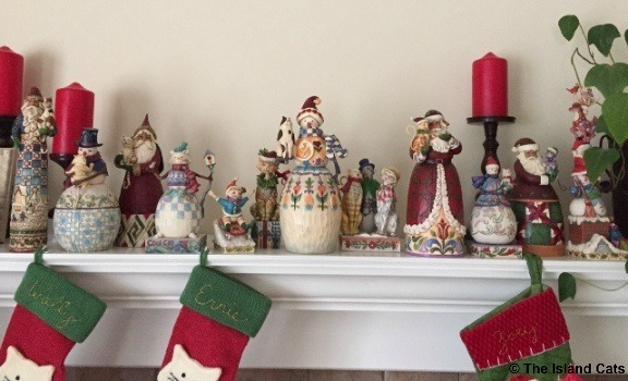 This is the mom's Jim Shore Christmas collection