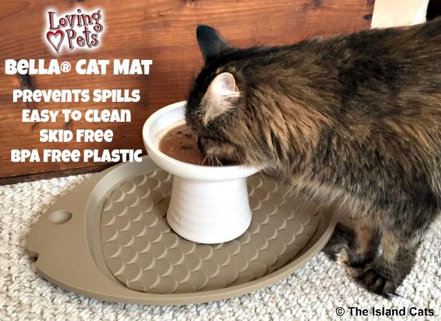 Loving Pets Bella Cat Mat Features