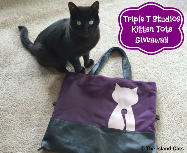 We're giving away a Kitten Tote