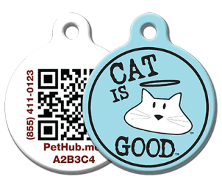 Example of PetHub Cat Tag