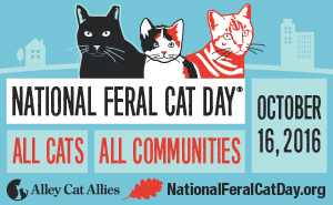 National Feral Cat Day 2016 logo