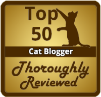 Thoroughly Reviewed Cat Blogger Badge