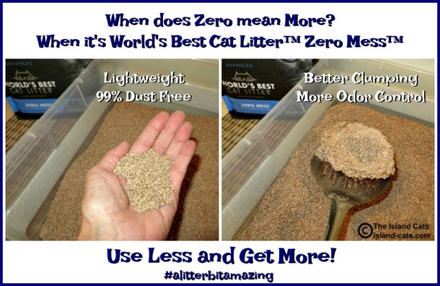 Zero Mess from World's Best Cat Litter