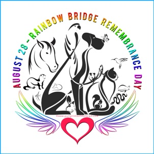 Rainbow Bridge Remembrance Day Logo