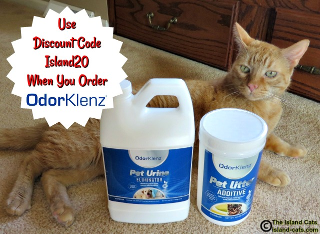 Use this discount code when you order OdorKlenz