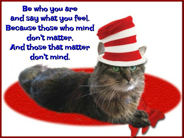 This is my favorite Dr. Seuss quote